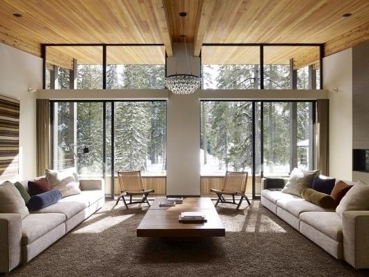 Wanken - Sugar Bowl Residence #interior #modern #interi #design #wood #architecture #residence