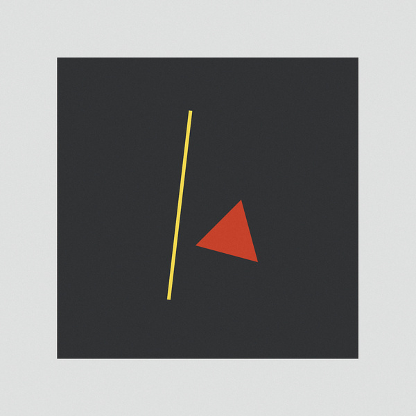 //// #geometry #red #abstraction #yellow #constructivism #triangle #type