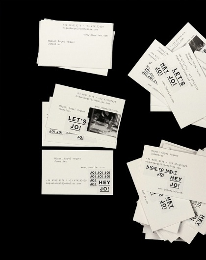 Innovative graphic design by Bendita Gloria | Cosas Visuales #card #business