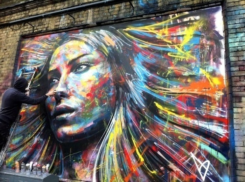 Street art/Graffiti inspiration #art #street