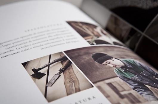 Mareiner Holz - corporate identity & design on the Behance Network #print #booklet #brochure