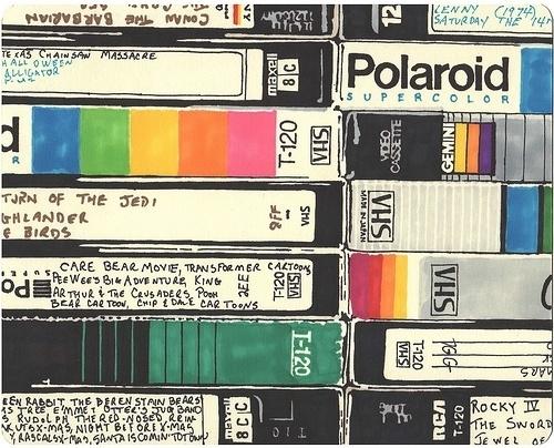 tumblr_ljd149wFZY1qam9yko1_500.jpeg (500×404) #vhs #cassette
