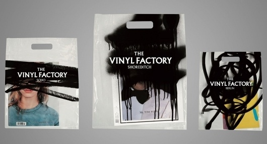 The Vinyl Factory by Tom Darracott #design #graphic