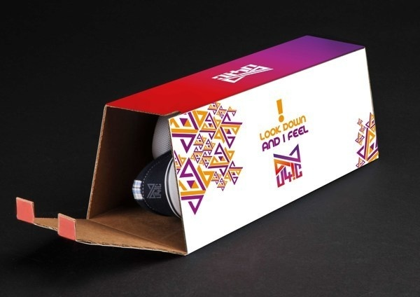 euphoric shoe box packaging #inspiration #creative #shoes #packaging #design