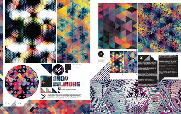 IdN™ Magazine® — IdN v19n4: Shapes in Pattern #magazine