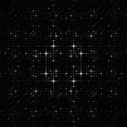 michaelerule: Quasicrystal Diffraction Patterns #diffraction #quasicrystal #patterns