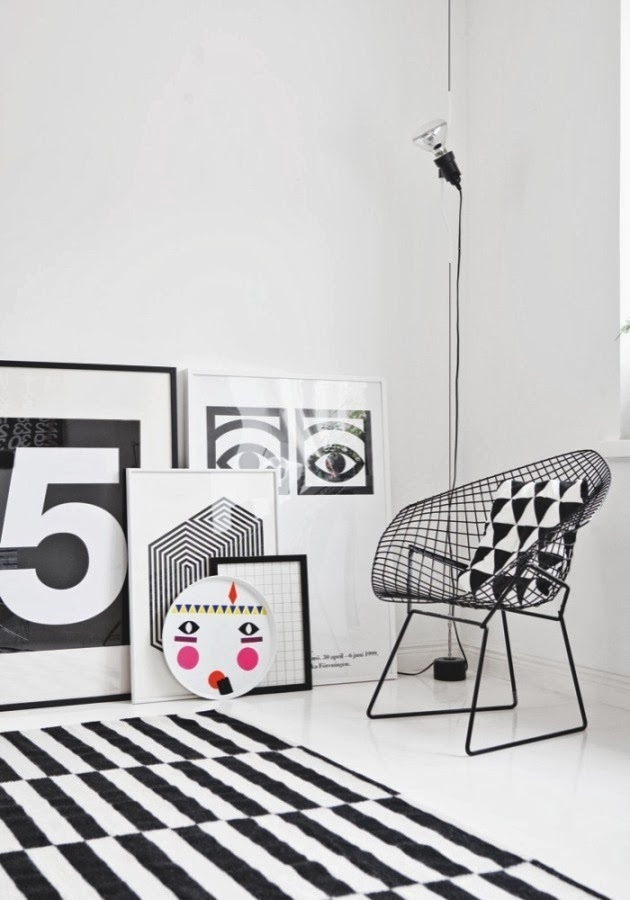 OP-ART #interior #white