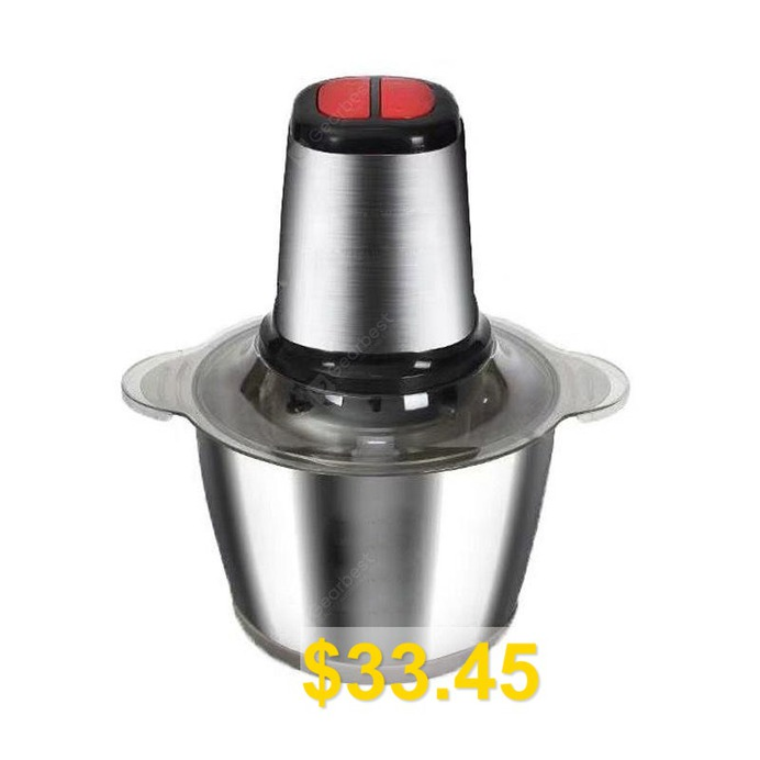 Household #Electric #Meat #Grinder #Stainless #Steel #Meat #Grinder #- #SILVER