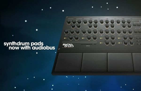 SynthDrum Pads #cgi #synth #synthesizer #drum #gui