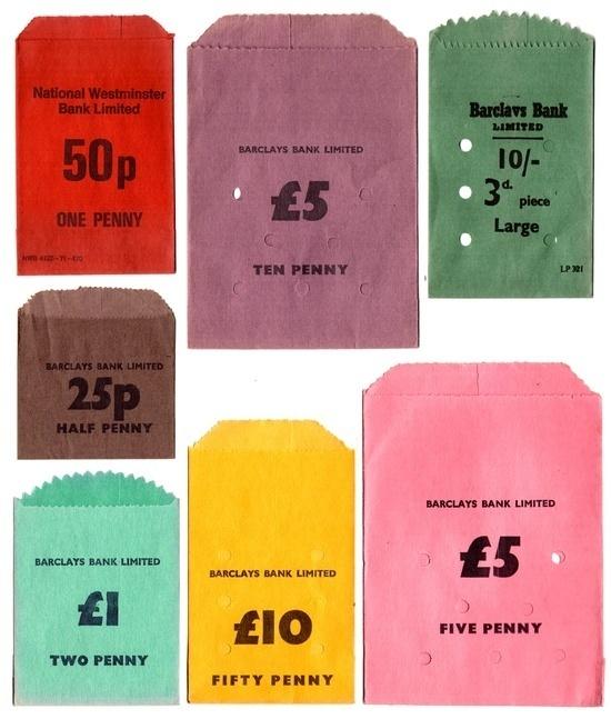 Money bags #colours #money #bags