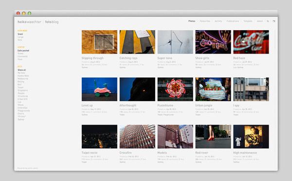 heiko waechter #design #website #layout #flash #web