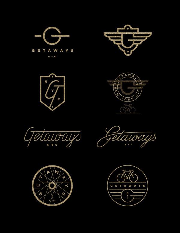 Getaways_nyc_j_fletcher #branding #j #design #logo #fletcher #type