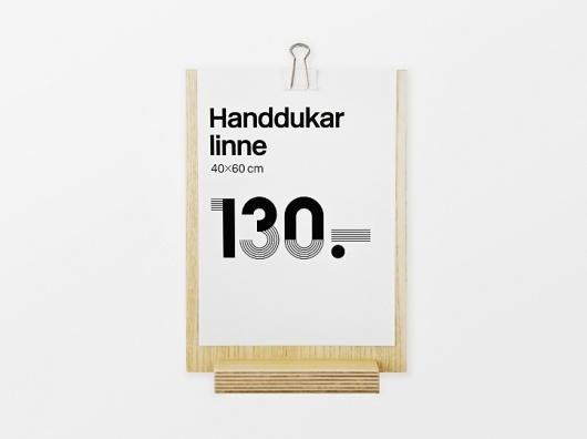 Identity | Stockholm Designlab #typography