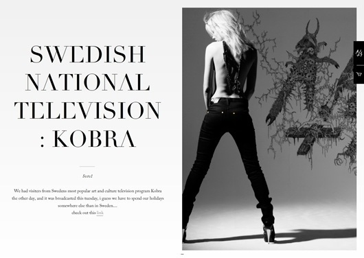 WANKEN - The Blog of Shelby White » Antisweden Fashion #serif #design #swedish #antisweden #webdesign #typography