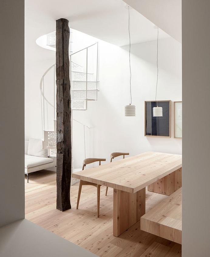 Two Level Apartment in Madrid by Francesc Rife Studio - InteriorZine