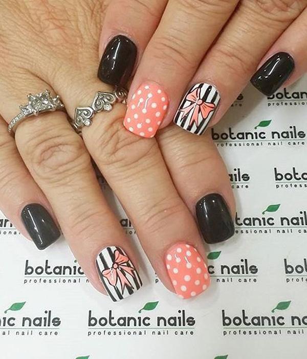 Best Nail Nails Matte Dots Polka images on Designspiration