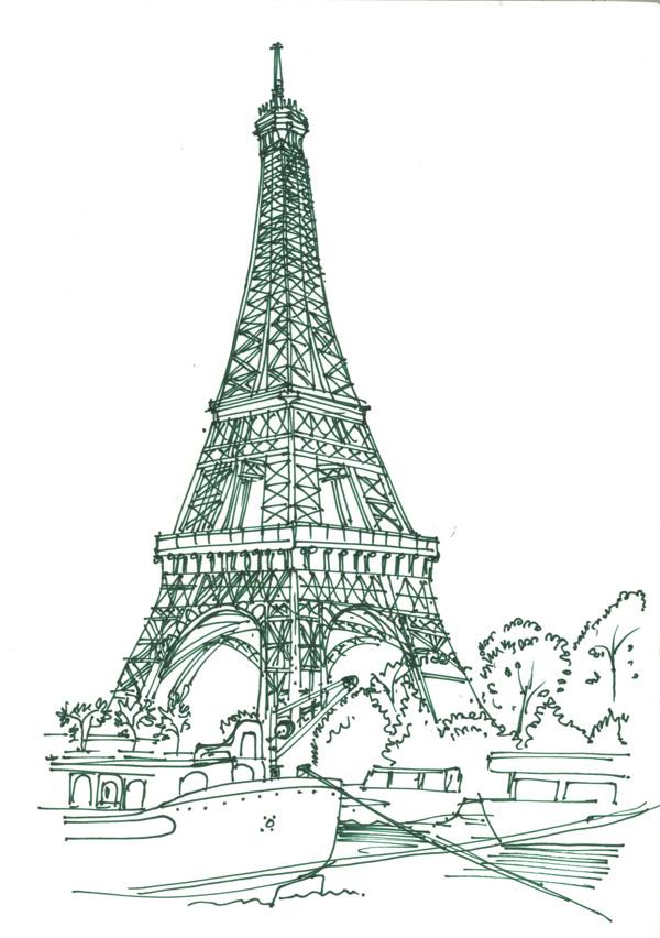 Travel Impressions from Austria | France #paris #eiffel #austria #france #art #tower #love #sketch