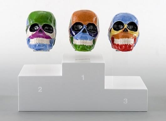 Massimiliano Pelletti #skull #sculpture #art