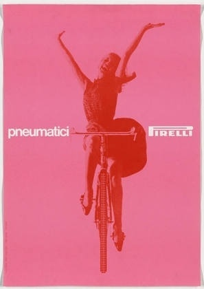 MoMA | The Collection | Massimo Vignelli. Pneumatici Pirelli. 1963 #design #swiss #vignelli #poster