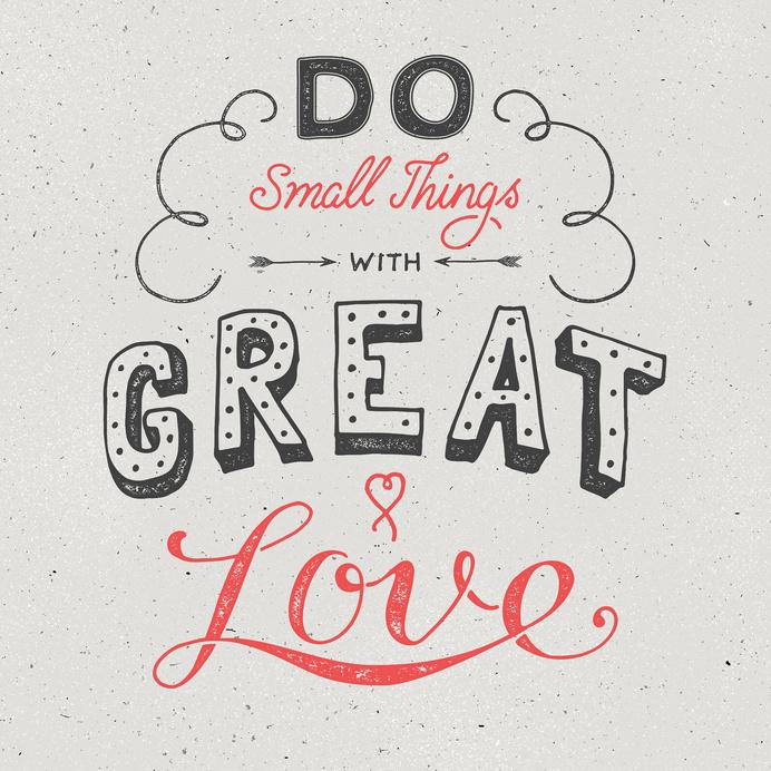 Great Love by Ian Barnard #handlettering #typography