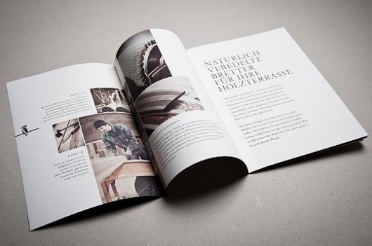 Mareiner Holz - corporate identity & design on the Behance Network