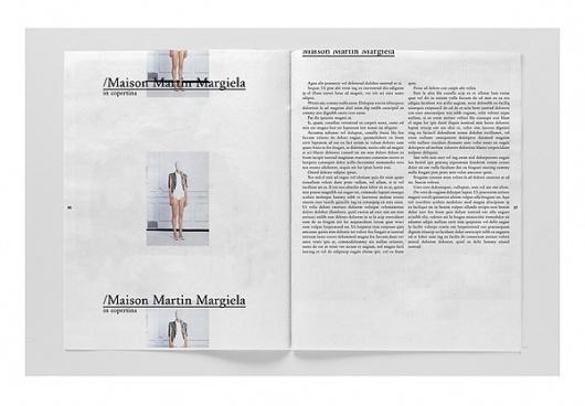 Rodeo Magazine on the Behance Network #fashion #design #graphic #magazine