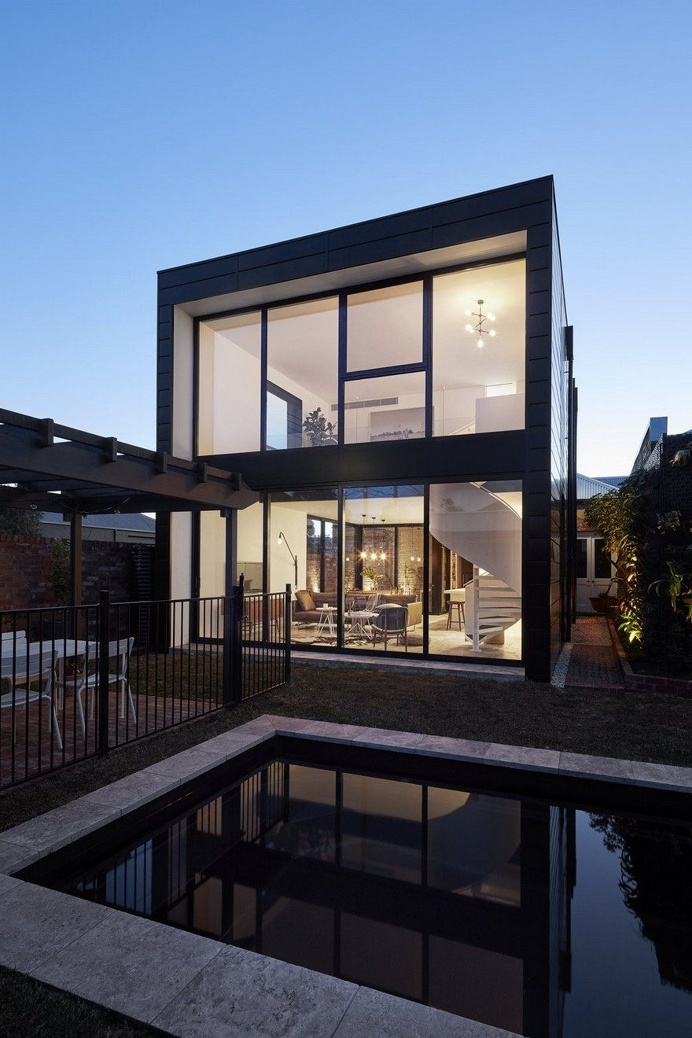 Modular Extension to an Old Brick House in Brunswick, Australia 8