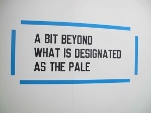 lawrence weiner « The FADER #text #installation #conceptual #weiner #art #lawrence #typography