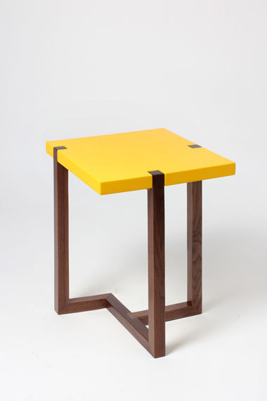 PIET side table #furniture #yellow #table #minimalistic