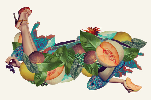 Candela Spring '12 Campaign   RoAndCo Studio #illustration #collage