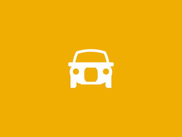 Cab Icon #pictogram #icon #vehicle #design #picto #symbol #cab #car