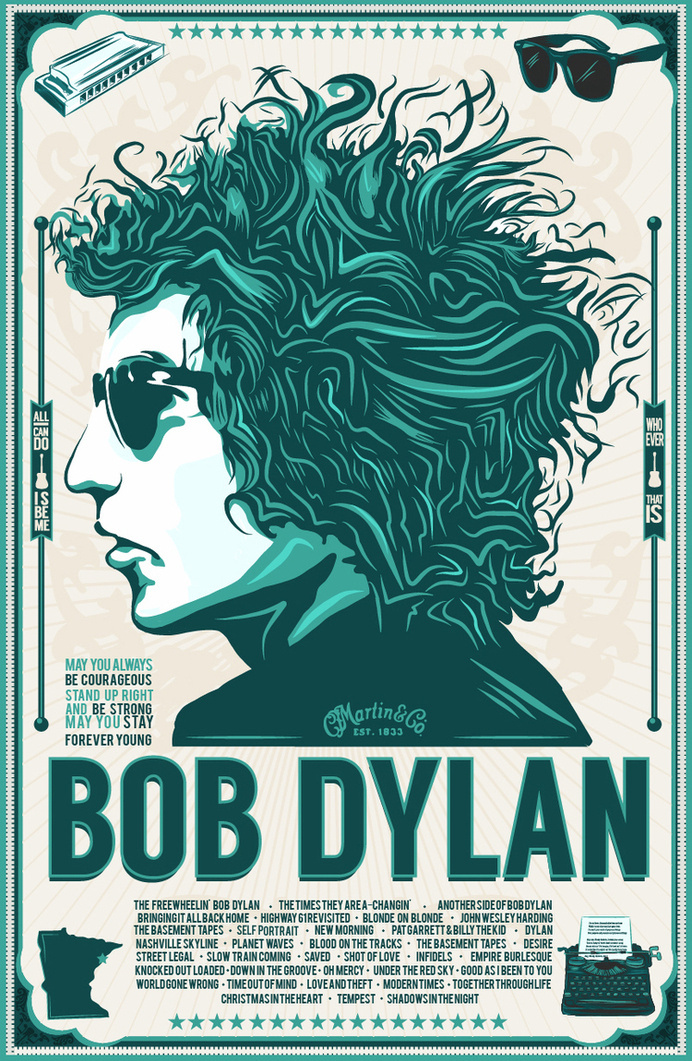 BobDylan #bobdylan #adobedraw #vector #bobby #icon #rock #classic #harmonica #illustrations #graphicart #rayban #dylan #poster #likearollingstone