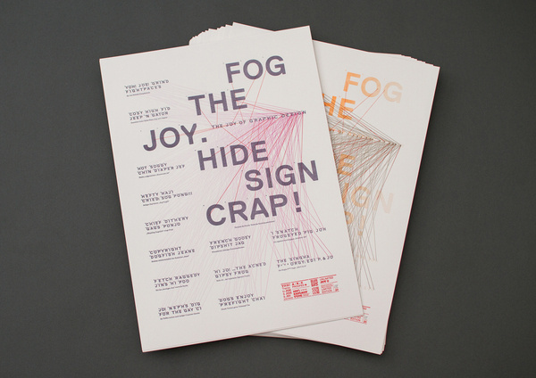Random Examples for Graphic Design Inspiration #print #design #graphic