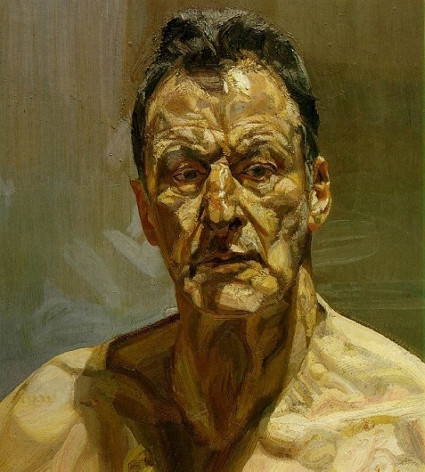 freud.reflection.jpg 650×721 pixels #portrait #painting