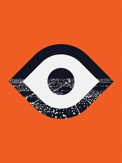 City logo #illustration #logo #city #orange #eye