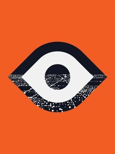 All sizes | City | Flickr - Photo Sharing! #orange #eye #illustration #fire #horizon #colour