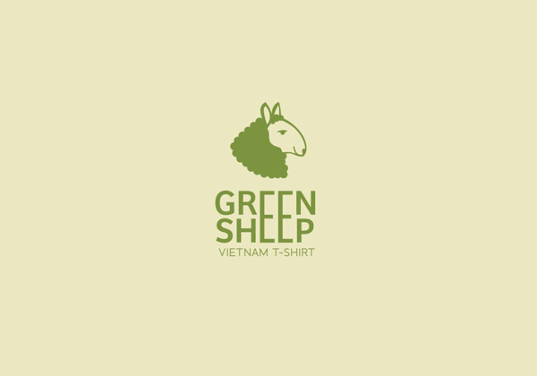 Green sheep #agency #branding #co #viet #qung #green #shirt #hiu #brand #vn #dng #logo #bratus #k #logotype #vit #sheep #mark #nam #t #thit #thng #cty #xy