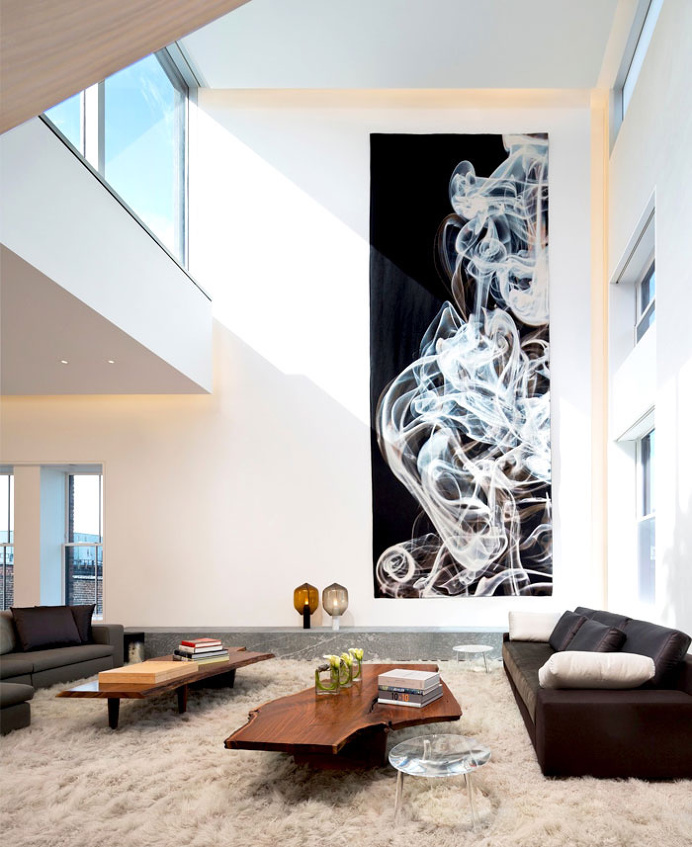 Manhattan Penthouse by Gabellini Sheppard Associates - home decor, #decor, interior design, decorating ideas
