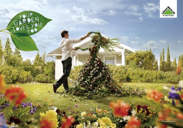 Leroy Merlin - garden on Behance #carioca #adv #basile #advertising #direction #leroy #art #merlin #francesco