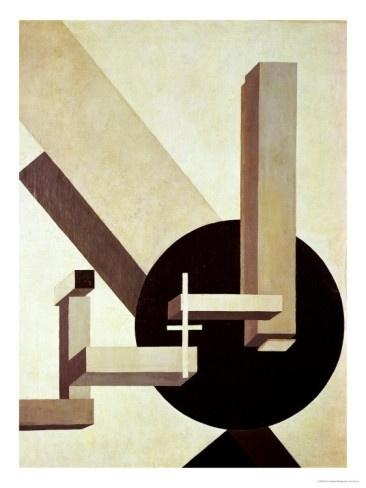 Proun 10, 1919 Giclee Print by El Lissitzky at AllPosters.com #10 #el #proun #lissitzky #suprematism
