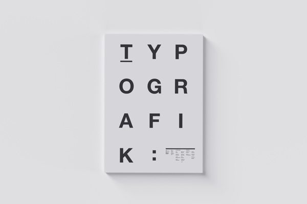 Typografik Magazine Covers on Behance