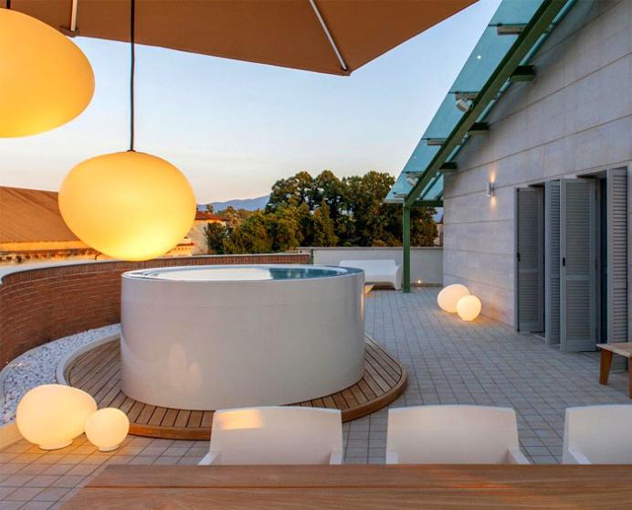 Italian Apartment By Studiovo - #decor, #interior, #homedecor, #modern, #outdoor