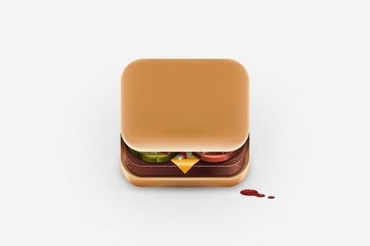 HUH. - Food iPhone App Icons #food