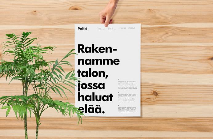 Palkki branding design identity new brand interior wood scandinavia inspiration designblog www.mindsparklemag.com
