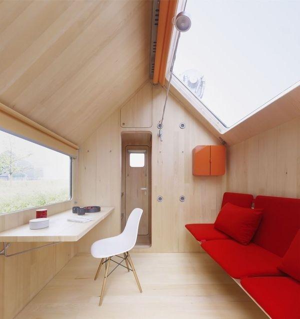 Vitra's Diogene Cabin Designed by Renzo Piano #cabin