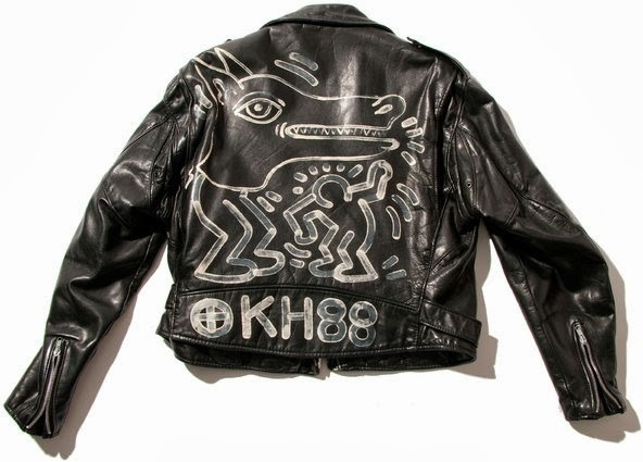 mineralography #leather #jacket #keith #haring