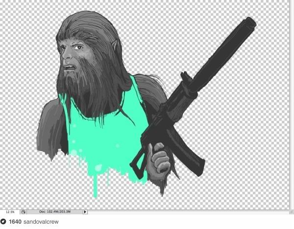 Che Teen Wolf on Dropula The inspirational catalogue #war #doggy #guevara #teen #che #wolf #revolution #style