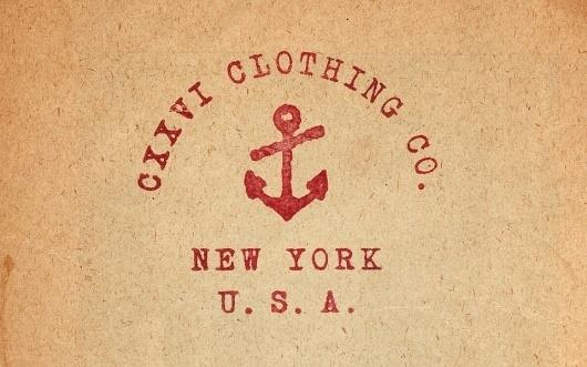 CXXVI Clothing Co. — Fall 2010 #type #anchor #cxxvi #vintage
