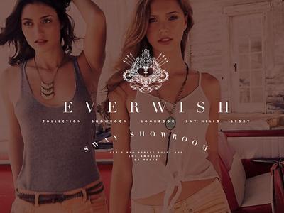 Everwish preliminary redesign #logo #identity #typography