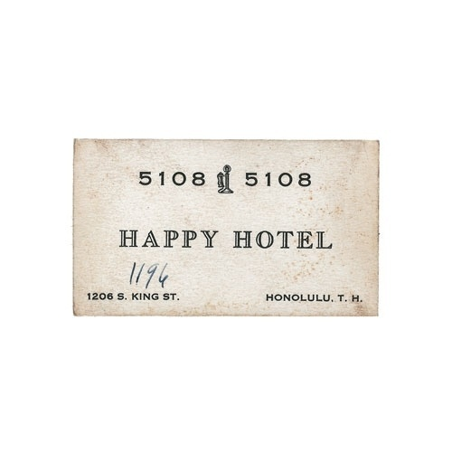 Inspirations on the Behance Network #hotel #card #happy #business